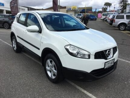 2010 Nissan Dualis J10 MY2009 ST Hatch X-tronic White 6 Speed Constant Variable Hatchback Bridgewater Adelaide Hills Preview