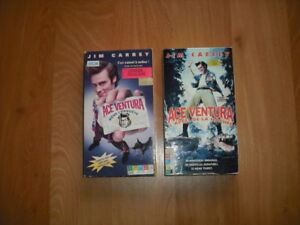 ...2 FILMS VHS DE ACE VENTURA...(JIM CAREY)...