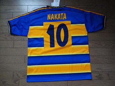 Parma #10 Nakata 100% Original Soccer Jersey Shirt L 2002/03 Still BNWT Japan image