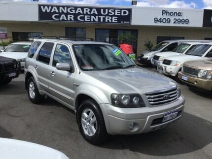 2007 Ford Escape ZC Limited V6 Gold 4 Speed Automatic Wagon Wangara Wanneroo Area Preview