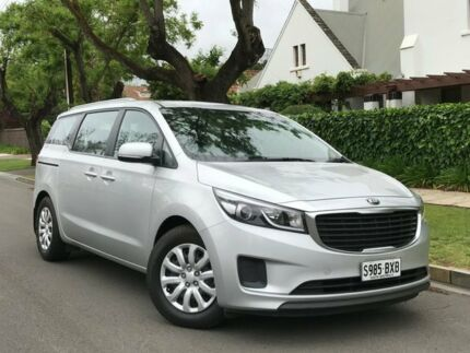 2015 Kia Carnival YP MY15 S Silver 6 Speed Sports Automatic Wagon Medindie Walkerville Area Preview