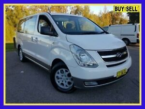 2012 Hyundai iMAX TQ-W MY12 White Automatic Wagon Lansvale Liverpool Area Preview