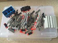 Lego - Vintage Train mixed job lot (1980's)