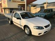 2007 Ford Falcon BF MkII XL White 4 Speed Auto Seq Sportshift Cab Chassis Coopers Plains Brisbane South West Preview
