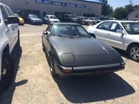 1983 Mazda RX-7 certified ready to go $2,995+taxes