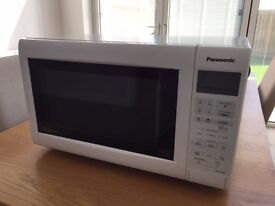 Panasonic Microwave for sale, good condition but door sticks occasionally