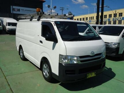 2008 Toyota Hiace TRH201R MY07 Upgrade LWB White 4 Speed Automatic Van Canada Bay Canada Bay Area Preview