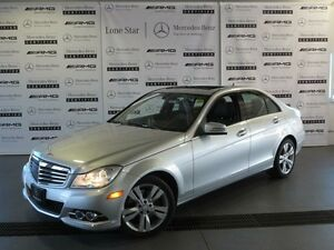 2013 Mercedes-Benz C-Class 4MATIC Sedan