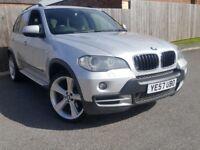 BMW X5 3.0 D SE 5STR 5DR AUTOMATIC (silver) 2007
