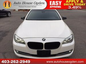 2011 BMW 535i MATTE WHITE  NAVIGATION BACKUP CAMERA