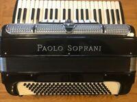 S/Hand Paolo Soprani 120 Bass Accordion