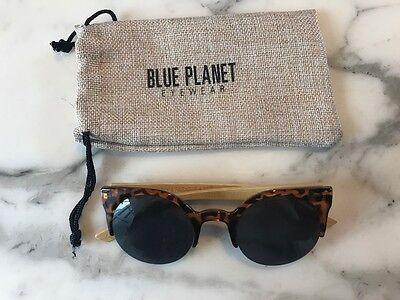 BLUE PLANET EYEWEAR - WALNUT TORTOISE AND NATURAL BAMBOO (Blue Planet Eyewear)