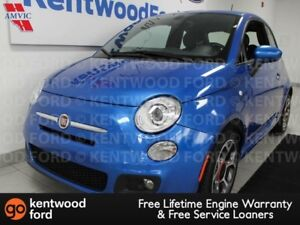 2016 Fiat 500 SPORT FWD Hatch. It's blue so you don't have to be