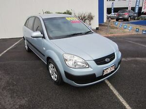 2005 Kia Rio MY04 LS Ice Mint Silver 5 Speed Manual Hatchback Buderim Maroochydore Area Preview