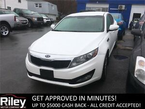 2011 Kia Optima EX+ STARTING AT $116.81 BI-WEEKLY