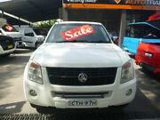 2007 Holden Rodeo RA MY08 LT Crew Cab 4x2 White 4 Speed Automatic Utility Merrylands Parramatta Area Preview