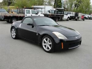 2004 NISSAN 350Z ROADSTER CONVERTIBLE LEATHER 6 SPEED MANUAL