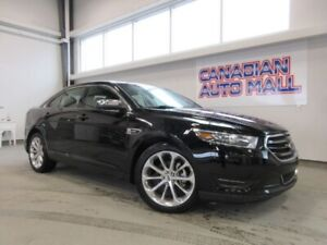 2018 Ford Taurus LIMITED AWD, NAV, ROOF, HTD. SEATS, 21K!