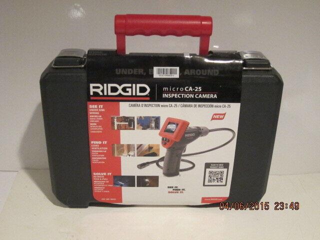RIDGID 40043 MICRO CA-25 HANDHELD INSPECTION CAMERA KIT, FREE SHIPPING, NISB!!!!