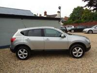 2009 Nissan Qashqai 1.5dCi 2WD Acenta Silver Diesel Manual Only 86K Miles