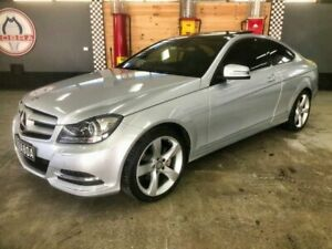2014 Mercedes-Benz C250 W204 MY13 BE Silver 7 Speed Automatic G-Tronic Coupe Fyshwick South Canberra Preview