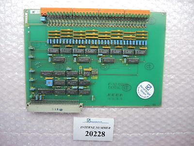 Digital Input Card Keba E-32-digin D1321e Engel Injection Molding Machines