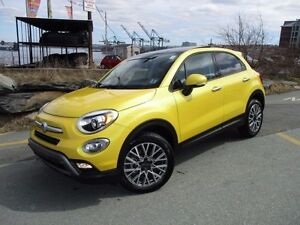 2016 Fiat 500 X Trekking (AWD, PANORAMIC ROOF, ALLOYS, FOGS, REM