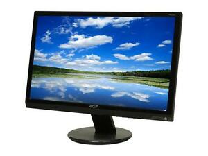"Acer P205H Black 20"" LCD Monitor"
