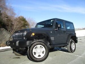 2017 Jeep Wrangler Sport (2DR HARDTOP, AUTO TRANS, A/C, ONLY 510