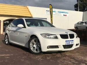 2007 BMW 320d E90 White 6 Speed Auto Steptronic Sedan East Victoria Park Victoria Park Area Preview