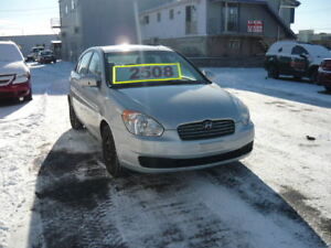 2007 Hyundai Accent GL Berline