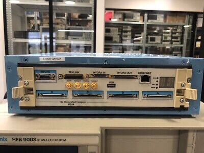 Tektronix Pg3a Cab Pulse Pattern Generator Great Condition