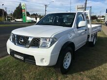 2012 Nissan Navara D40 MY12 RX (4x4) White 6 Speed Manual Cab Chassis Young Young Area Preview