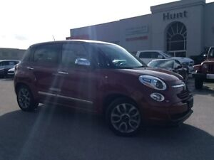 2015 Fiat 500L LOUNGE CAMERA, LEATHER, BT & MORE!!!