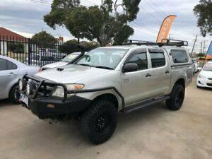2008 Toyota Hilux KUN26R MY09 SR Silver 5 Speed Manual Utility Maidstone Maribyrnong Area Preview