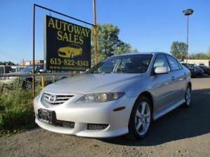 2005 Mazda 6 GS 2.3L FWD Automatic ** Certified **