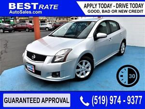 NISSAN SENTRA - APPROVED IN 30 MINUTES! - ANY CREDIT LOANS