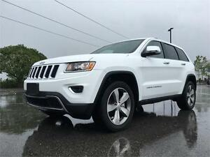 2016 JEEP GRAND CHEROKEE LIMITED *ONE OWNER, FACTORY WARRANTY*