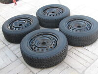 TOYO  WINTER TIRES 215/60R16 ONLY USED 2 YEARS. CAMY