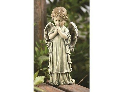 concrete plaster mold(Praying Angel Cherub )latex n fiberglass