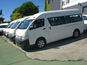 2006 Toyota Hiace TRH223R MY07 Commuter White 4 Speed Automatic Bus Canada Bay Canada Bay Area Preview