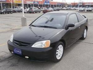 """2002 Honda Civic Si,POWER OPTIONS, being sold """"AS-IS"""
