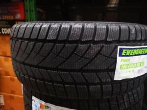 2 winter tires new 225/40r19 with stickers