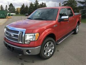 2010 FORD F150 LARIAT NAVI LEATHER BLUTOOTH WARRANTY NO ACCIDENT