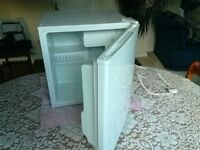 Almost new, Currys CTT50W10 Mini Fridge with Ice Box. Spotlessly Clean, Excellent Condition