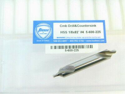 1 New Toolmex Tmx Hss 4 Center Drill Countersink 82 Degree 5-600-225