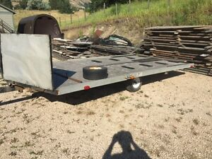 x2 Snowmobile Package & Trailer