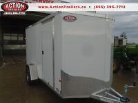 PROMO PRICE ON NOW!! 6X12 ALL ALUMINUM ALL PURPOSE NEO TRAILER London Ontario Preview
