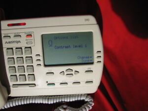 Vista/Nortel White 390 Speaker Telephone