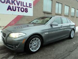 2011 BMW 5 Series 528i NAVIGATION PKG PREMIUM PKG CPO WARRANTY